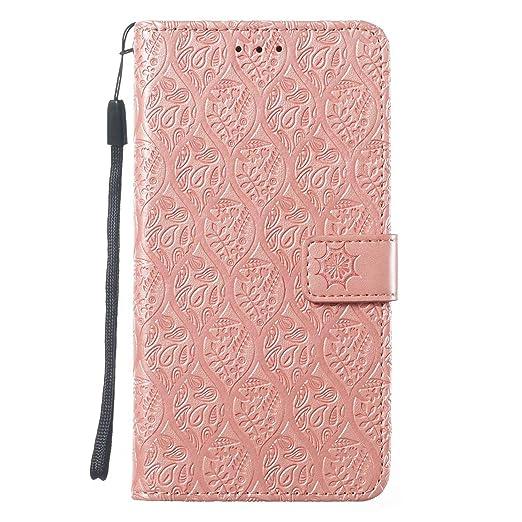 Veapero - Carcasa para Samsung Galaxy M30, Oro Rosa: Amazon.es: Jardín