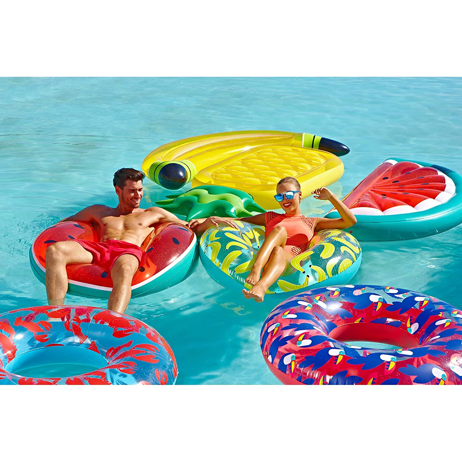 Amazon Sunnylife Luxury Adult Inflatable Pool Float Lie Down