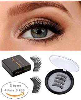 fd42834b70b ROWNYEON Magnetic Eyelashes Dual Magnetic False Eyelashes-Premium Quality  for Natural Look