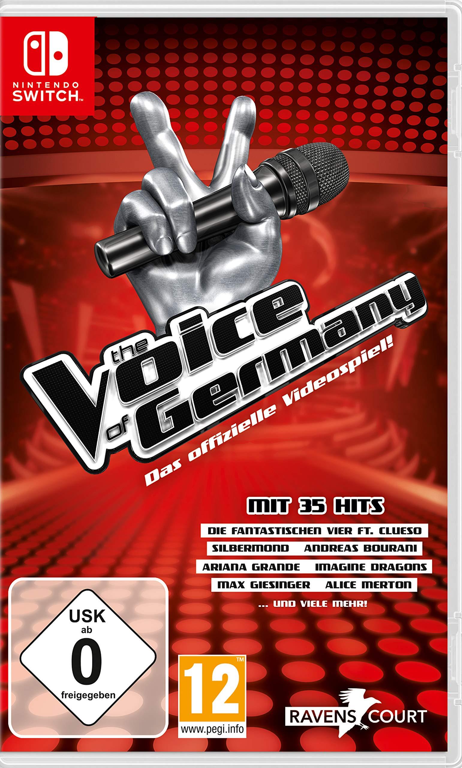 The Voice of Germany - Das offizielle Videospiel Nintendo Switch: Amazon.es: Libros