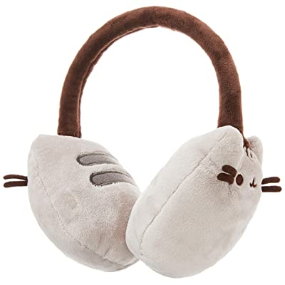 "GUND Pusheen Cat Plush Stuffed Animal Earmuffs, Gray, 8"": Gund: Toys & Games"