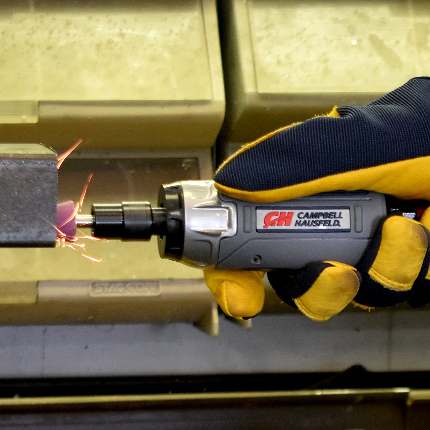 Campbell Hausfeld XT251000 Get Stuff Done Angle Die Grinder 20,000 RPM with Flow Adjustment