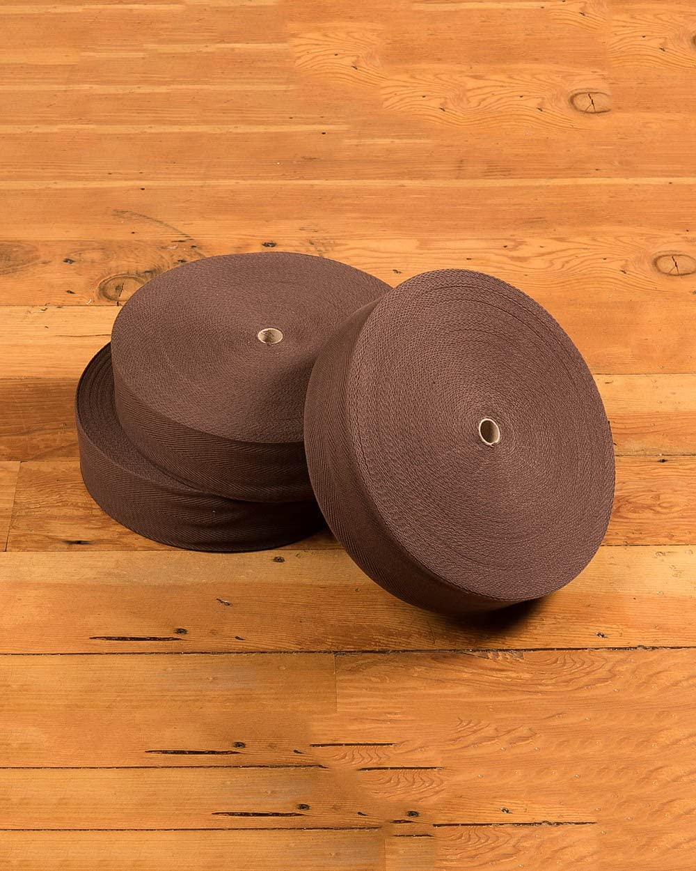 Natural Area Rugs High End Cotton Binding Carpet Tape for Rug Carpets, 100 Percent Cotton, Durable, 2 3 4 x 164 Espresso