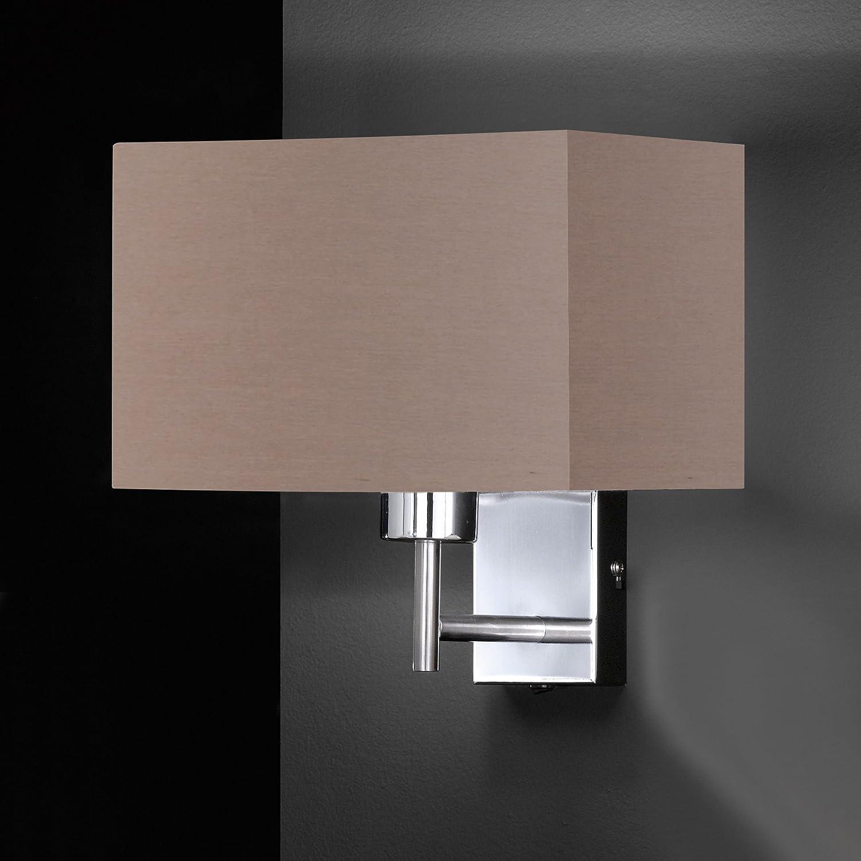 Honsel Wall Light Fabric E27