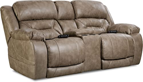 ComfortMax Commander Reclining headrest loveseat
