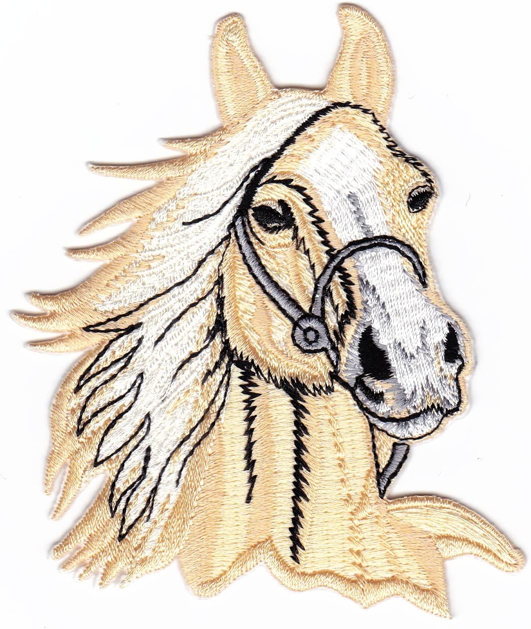 New Horse Appliqué Iron On Patch