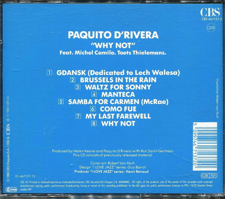 Why Not: Paquito dRivera: Amazon.es: Música