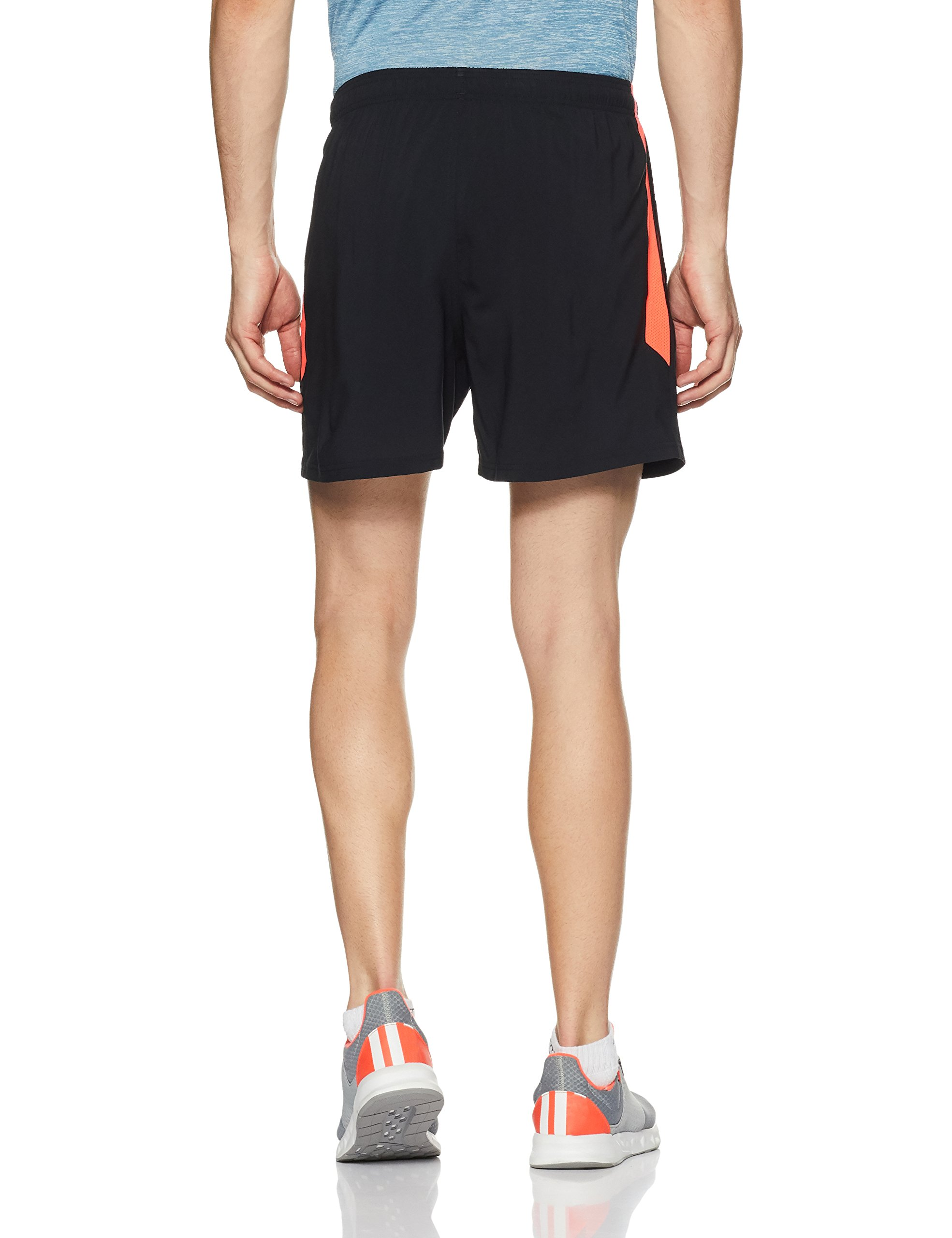 Under Armour Men's Launch 5'' Shorts,Black /Reflective, Small by Under Armour (Image #2)