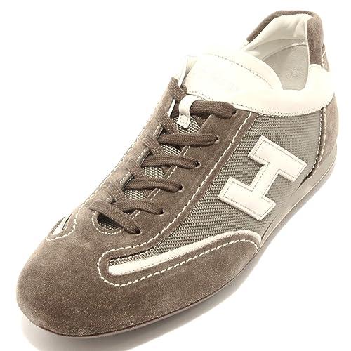 92025 sneaker HOGAN OLYMPIA LACE UP SLASH TS3 scarpa uomo shoes men ... 4ea23165132