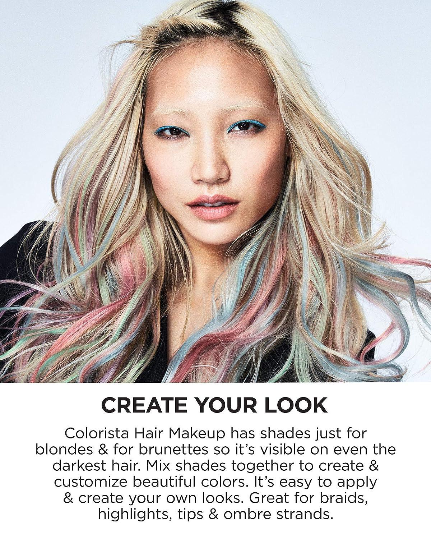 L\'oreal Paris Hair Color Colorista Makeup 1-day for Brunettes, Purple 50, 1  Fl Oz