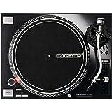 Tourne-disque Reloop RP-7000,pour DJ, avec couple élevé, entraînement direct par Quartz, réglable en hauteur MK2 Bras de lecture en S Noir Schwarzmetallic