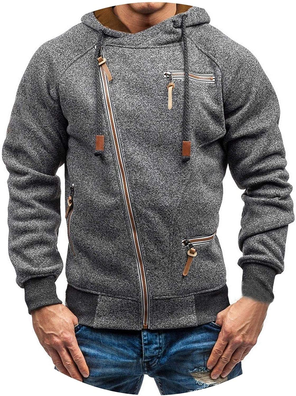 Jacket Men Autumn Long Sleeve Zipper Outerwear /& Coats Fashion,A,M,China