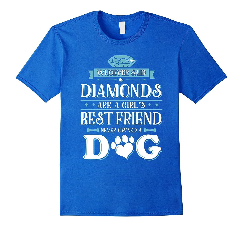 Dog Lovers TShirt Diamonds Heather-Awarplus