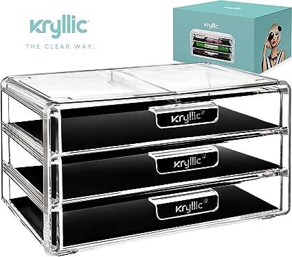 Amazoncom Kryllic Acrylic Makeup Jewelry Cosmetic Organizer