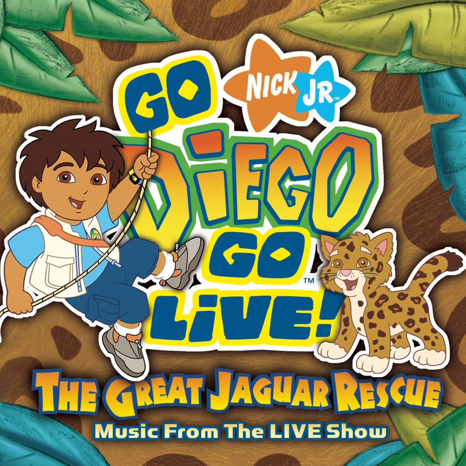 Go Diego Go Live the Great Jaguar Rescue by Nickelodeon