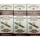 Watkins Pure Vanilla Extract with Madagascar Vanilla Beans (3 Pack)