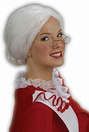 Amazon.com: Peluca para disfraz de Mamá Noel, de ...