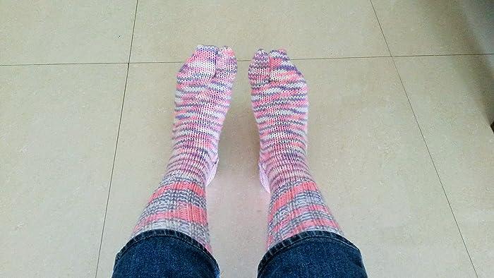 449d5f195b6d4 Amazon.com: Pink Socks Handmade socks Wool socks Gifts for her Knit slipper socks  FREE SHIPPING: Handmade