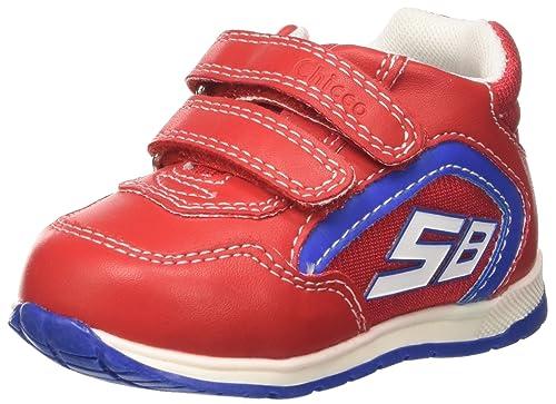 Chicco Gaspar, Sneakers Bimbo, Rosso, 19 EU