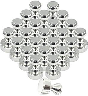 Whiteboard und Pinnwand Kleine K/ühlschrankmagnete 15 St/ück - N52 Neodym Magnete f/ür Magnettafel Reorda Extra Starke Magnet Pins