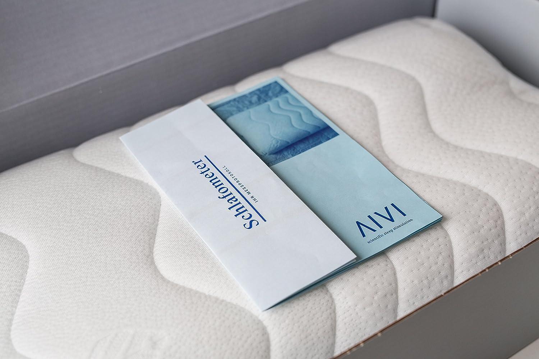 SCHLAFPROBLEME GELÖST - PATENTIERTES System - Schlafkissen AIVI hilft Ihnen dabei wieder Gut Ein- und Durchzuschlafen. In nur 14 Tagen - Mit Wirkgarantie und 90 Tage Rückgaberecht - Made in Germany
