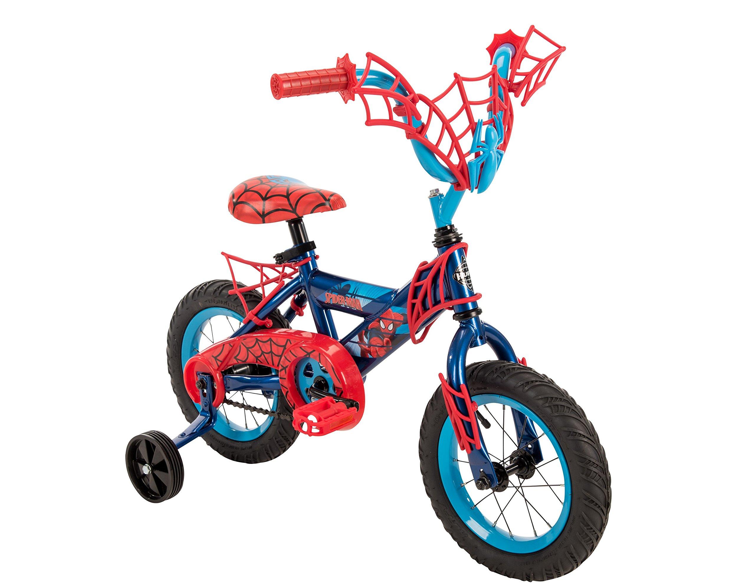 Huffy 12'' Marvel Spider-Man Boys' Bike Blue/Red