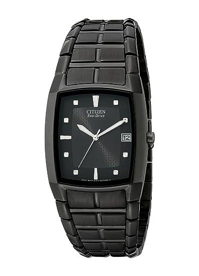 Citizen BM6555-54E - Reloj de Pulsera Hombre, Acero Inoxidable, Color Negro