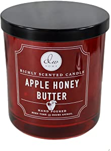 DW Home Apple Honey Butter 10.35 oz. Candle in a Glass Jar