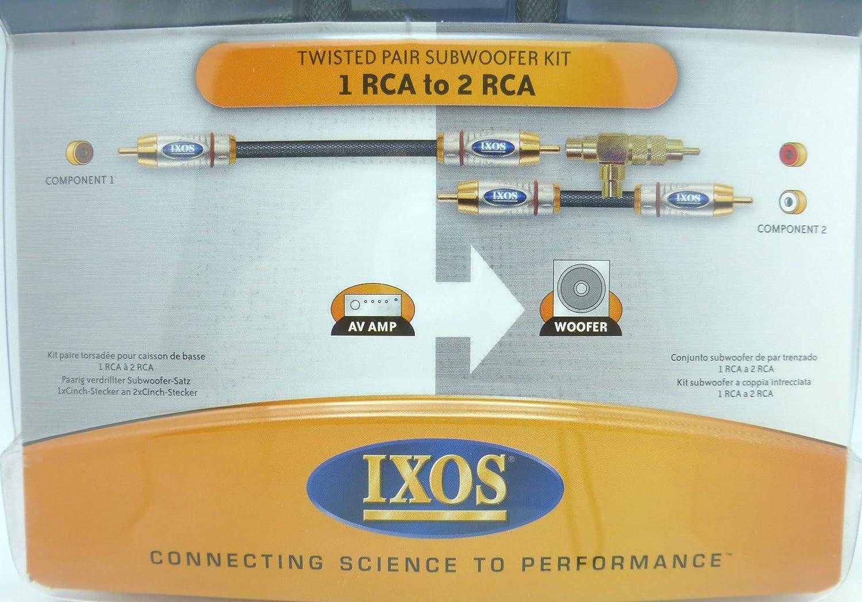 Amazon.com: IXOS Overture XHK305 5 meter Subwoofer Cable: Home Audio ...