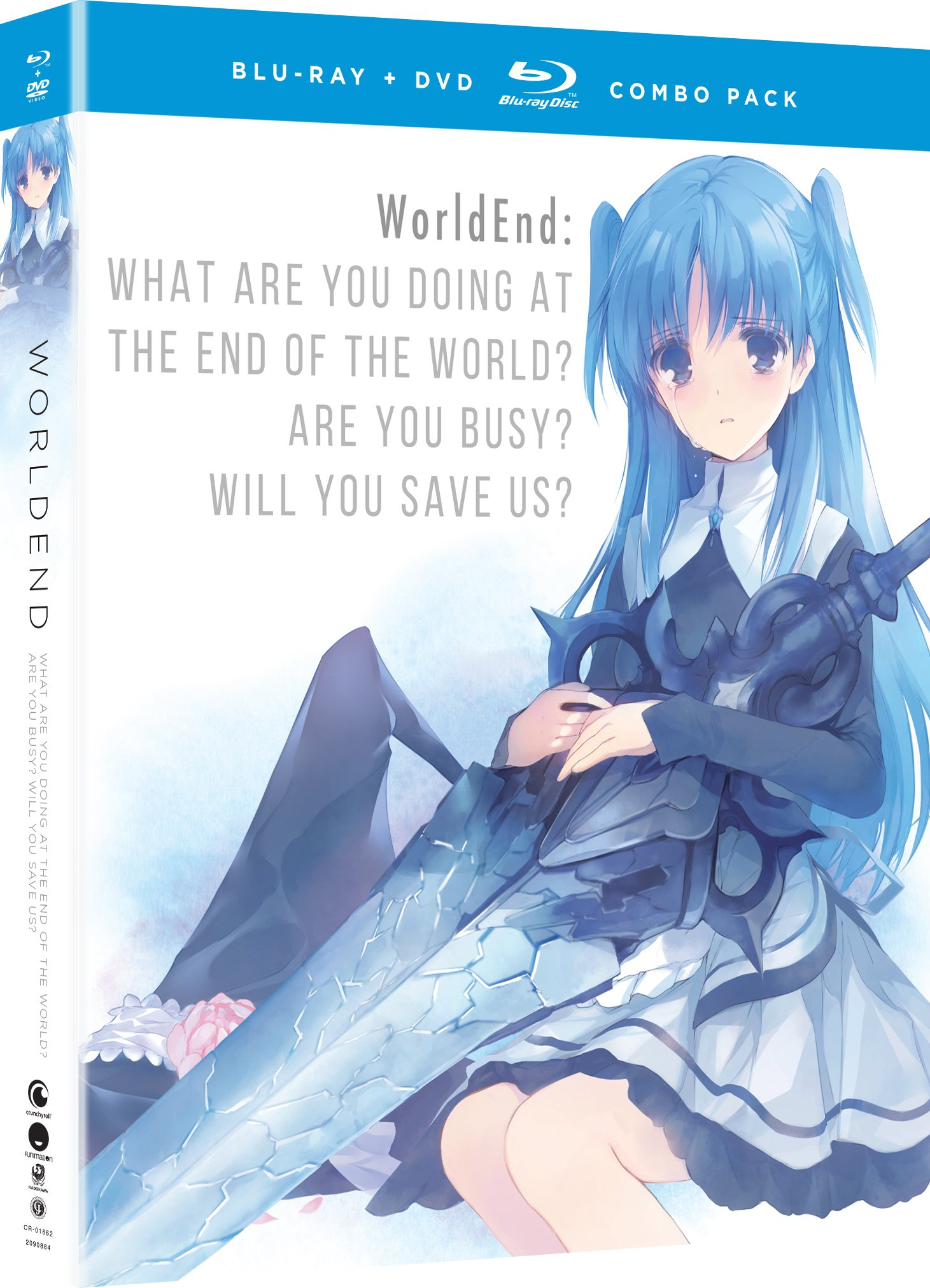 Blu-ray : Worldend: What Are You Doing At The End Of The World? Are You Busy?will You Save Us? - The Complete Series (With DVD, Boxed Set, Subtitled, Snap Case, Slipsleeve Packaging)