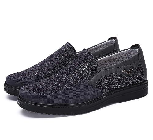 a193ea38 Zapatos Hombre Cuero Mocasines Casual Zapatillas Casa para Centavo Ponerse  Conducción Formal Negocios Barco Cómodos Caminar: Amazon.es: Zapatos y ...