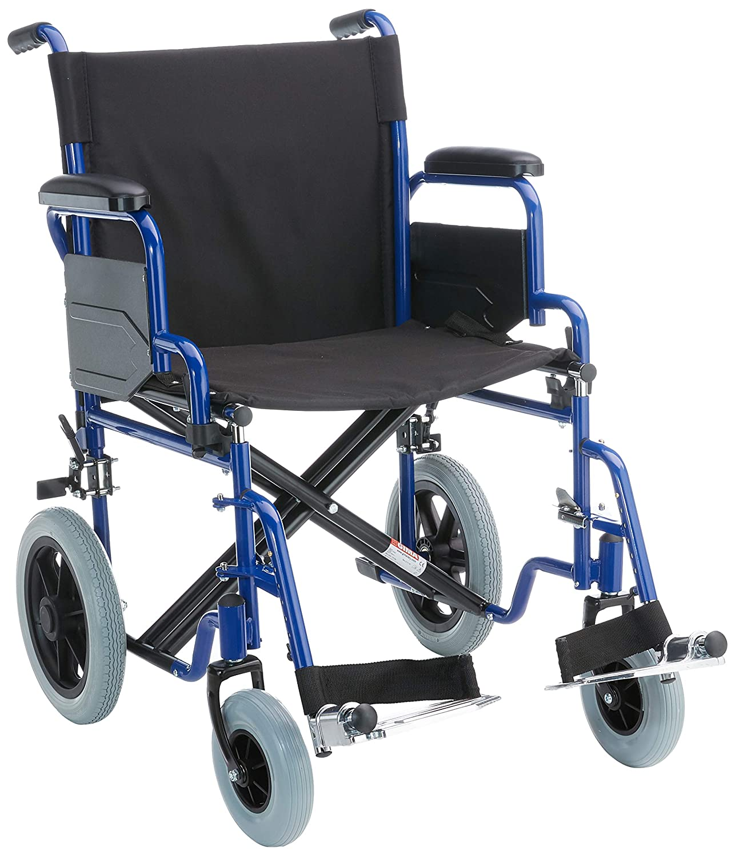 Silla de ruedas Essex. Asiento: 51cm. Silla de ruedas para personas mayores