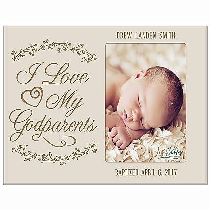 Amazon.com - Personalized Godparent Gifts Custom engraved Godparents ...