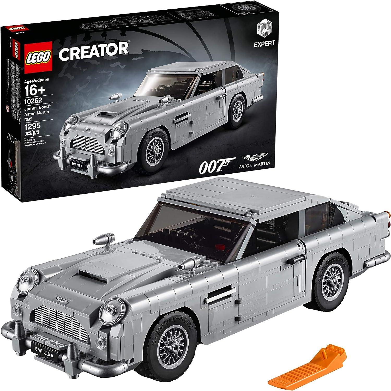 The LEGO James Bond Aston Martin DB5 set