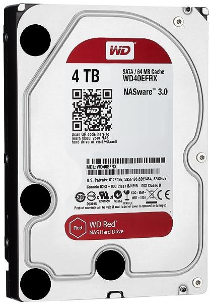 Amazon.com: Western Digital Red 4TB NAS Hard Disk Drive - 5400 RPM