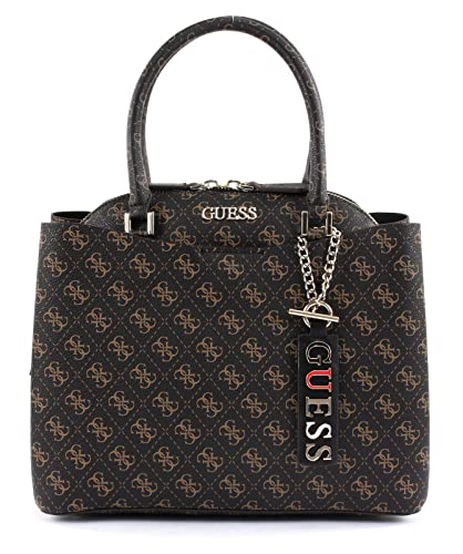 Guess Maci Large Girlfriend Satchel Brown: : Schuhe