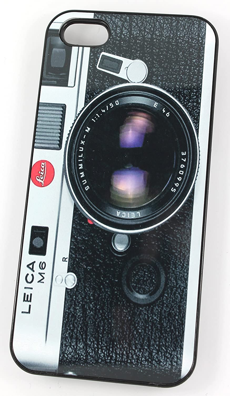 Vintage Leica M6 en la parte delantera de cámaras réflex (iPhone 5 ...