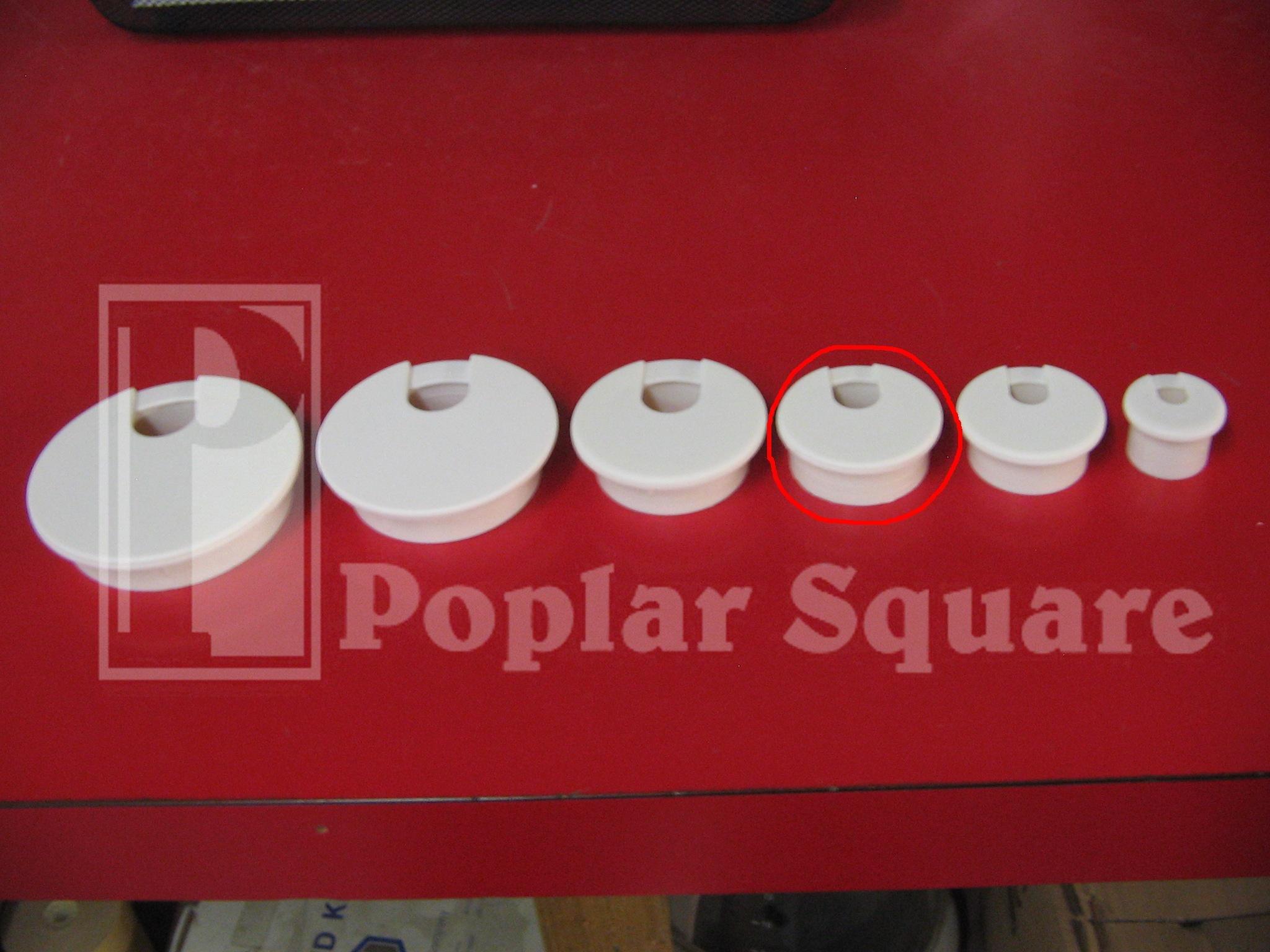 Cord Grommet 1-3/4'' 25/box White #1039WH by Bainbridge (Image #6)