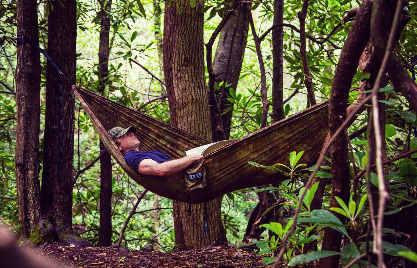ENO Camo Nest Hammock One Size Forest Camo