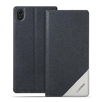3dbed3efd5 【Capas】 Xperia Z5 ケース 手帳型 マグネチック スマホケース Sony エクスペリアz5 SO-