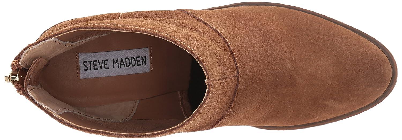 Steve Madden Women's Shrines US|Chestnut Ankle Bootie B01KPLK292 9.5 B(M) US|Chestnut Shrines Suede 845100