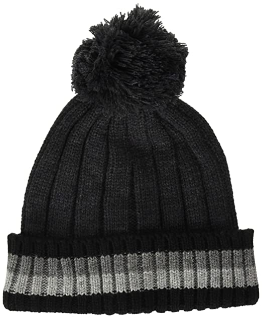 3b687c4aa Tommy Hilfiger Mens Cold Weather Cuffed Beanie Beanie Hat