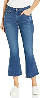 product image for James Jeans Women's Kiki Frayed Hem Ankle Flare in Victory