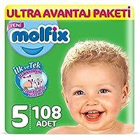 Molfix 3D Junior Ultra Avantaj Paketi, 108'li, Beyaz
