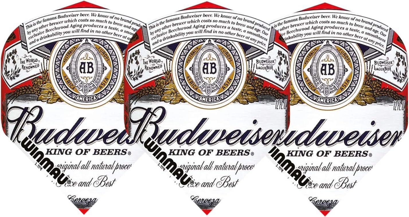 Budweiser Dart Flights Tri-Pack Standard w// FREE Shipping