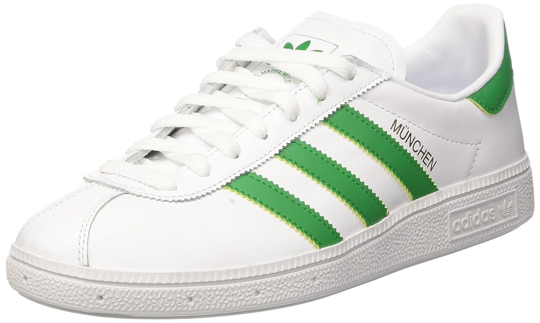 Adidas Munchen, Zapatillas para Hombre 46 EU|Rojo (Core White/Green/Gold Met.)