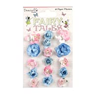 Dovecraft Premium Fairy Tales Paper Flowers, Multicolour, 1