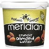 Meridian Crunchy Almond Nut Butter 1kg