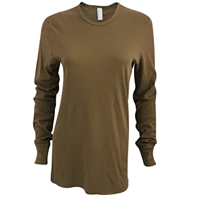 American Apparel Unisex Baby Thermal Long Sleeve T-Shirt | Amazon.com