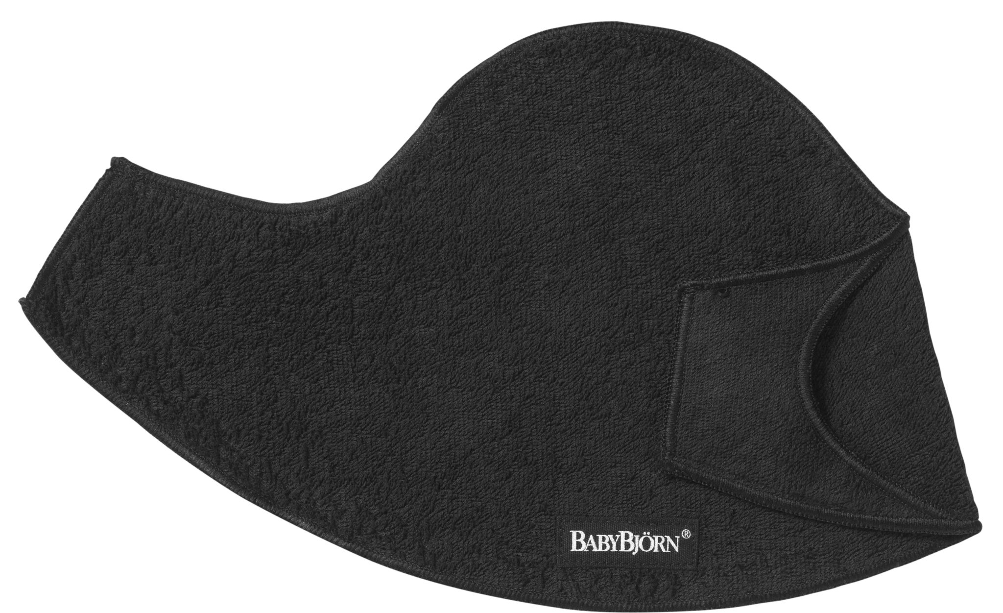 BABYBJORN Bib for Baby Carrier 2 Pack - Black